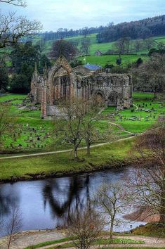 Bolton Abbey, North Yorkshire, England