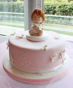 Baptism Cake by Violeta Glace