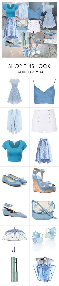 """""""Blue Pearl- Steve Universe"""" by animedowntherunway ❤ liked on Polyvore featuring Chi Chi, Diane Von Furstenberg, Pierre Balmain, Chicwish, Repetto, Michael Kors, T-shirt & Jeans, Vera Bradley, Ippolita and Thierry Mugler"""