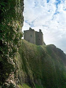 Dunnottar Castle became the seat of the chief of Clan Keith in 1639 but is now ruined. # my husbands clan