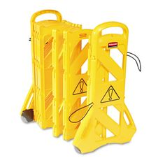 Rubbermaid Commercial 9S1100YEL Portable Mobile Safety Barrier #9S1100YEL #RubbermaidCommercial #TAABarriers  https://www.officecrave.com/rubbermaid-commercial-9s1100yel.html