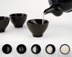 Ceramic Glasses Reveal the Different Phases of the Moon as You Drink - My Modern Met