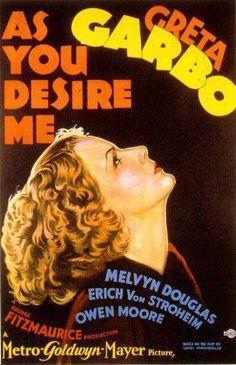 Garbo Movie Poster - greta-garbo Photo