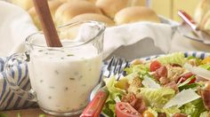 Turn your favorite sandwich into your new favorite salad! Hearty and crisp, this salad is topped with a rich, creamy buttermilk dressing, the perfect finishing touch on this fresh lunch favorite.