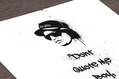 Digitaldruck - Take It Eazy - ein Designerstück von DiplomatOfStyle bei DaWanda