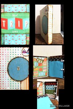 Esta es una caja de viaje para el hijo de mi amiga Sabrina,