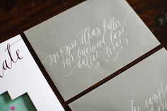 Oh So Beautiful Paper: Calligraphy Inspiration: Feast Fine Art & Calligraphy
