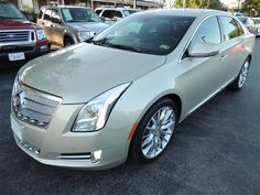 2013 Cadillac XTS PlatinumCollection Platinum Collection 4dr Sedan Sedan 4 Doors Silver Coast Me for sale in Houston, TX Source: http://www.usedcarsgroup.com/used-cadillac-xts-for-sale