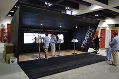 Booth diseñado para Trafic Tours de México en 2011 - Minneapolis, Mn.