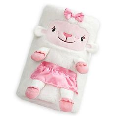 Disney Exclusive Doc McStuffins Lambie Character Blanket Plush Lovey NWT #Disney