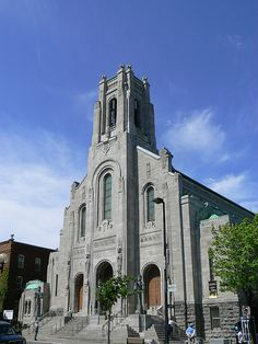 art deco church   Église St-Esprit, Rosemont Montreal Canada