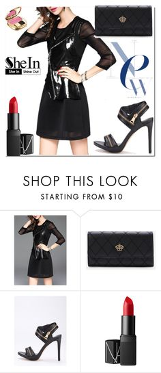 """""""9/23 shein"""" by fatimka-becirovic ❤ liked on Polyvore featuring NARS Cosmetics and Dolce&Gabbana"""