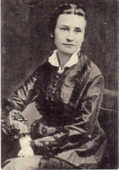 Eliška Krásnohorská (Alžběta Pechová by real name) was a Czech writer and poet, author of several librettos for operas... who also translated Pan Tadeusz, the poem by Adam Mickiewicz and one of my favourite books ever.