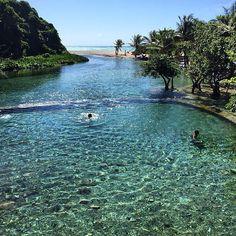Río y playa Los Patos, Barahona