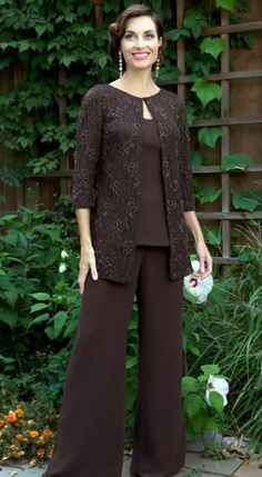 Caviar by MacDuggal 3pc Pant Suit for Mother of the Bride 2818C at frenchnovelty.com