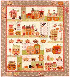 Pumpkinville Quilt Kit