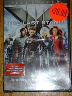 Hugh Jackman X-Men The Last Stand DVD Fullscreen Movie Brand New in Plastic