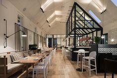 Kaper Design; Restaurant & Hospitality Design Inspiration: The Old Library