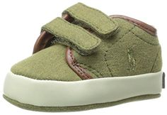 Ralph Lauren Layette Ethan Low EZ Sneaker InfantInfant Army 1 M US Infant -- Find out more about the great product at the image link.Note:It is affiliate link to Amazon.