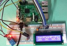 Raspberry Pi Weather Station: Monitoring Humidity, Temperature and Pressure over Internet