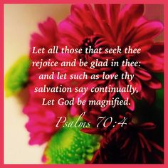 Psalm 70:4 KJV