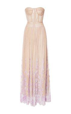 Amore Senza Confini Corset Dress by Rosamosario for Preorder on Moda Operandi