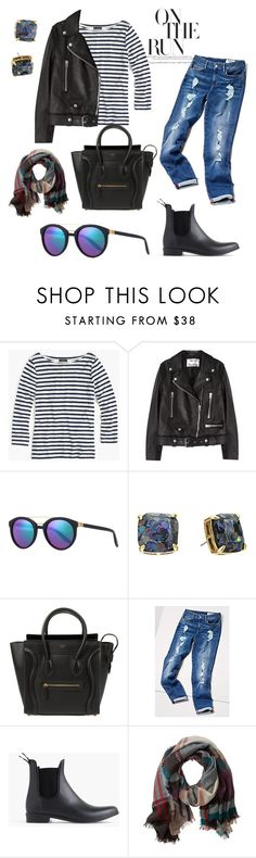 """""""Everyday Style Feat. Chelsea Boots"""" by emmyt94 ❤ liked on Polyvore featuring J.Crew, Acne Studios, Barton Perreira, Kate Spade, Tommy Hilfiger, TravelSmith and chelseaboots"""