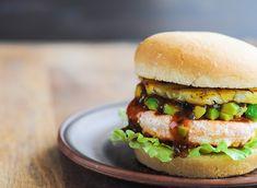 salmon burger #BoomFitness