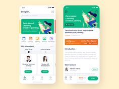NetEase Cloud Classroom Redesign designed by Itern漠声. Connect with them on Dribbble; Android App Design, App Ui Design, Interface Design, Android Ui, Design Web, Flat Design, User Interface, Web Layout, Design Layouts