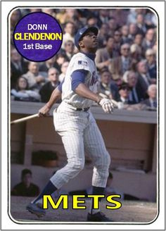 Donn Clendenon New York Mets
