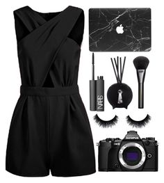 """""""HW"""" by unco ❤ liked on Polyvore featuring NARS Cosmetics, Fornasetti, Gucci and Olympus"""