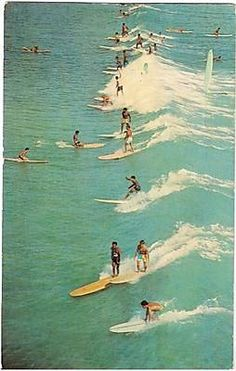 We love this old-time postcard of Hermosa Beach!
