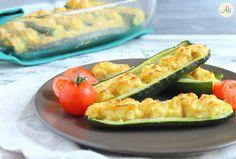 Zucchine Ripiene di Tonno e Patate
