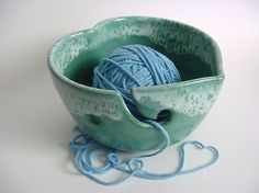 It's a YARN bowl.  I must have one!
