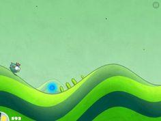 Tiny Wings : un joli jeu iPad à partager en famille et gratuit actuellement ! Venez lire l'avis de La Souris Grise :)