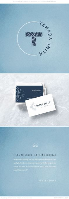 Fun and playful rebrand for Colorado wedding photographer, Tamara Smith Weddings. Branding by Moriah Riona. Branding for photographers and creative female entrepreneurs. Self Branding, Logo Branding, Wedding Branding, Corporate Branding, Creative Logo, Creative Business, Brand Identity Design, Branding Design, Web Design