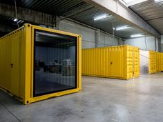 Office Space Design with Shipping Containers by Five AM - News - Frameweb