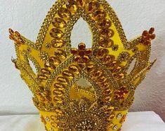 Yoruba Religion, Craft Supplies, Etsy Shop, Headpiece, Spiritual, Handmade, Dress, Carnival, Saints