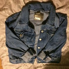 Vintage Levi Strauss denim jacket Super cute denim authentic Levi denim jacket, just a little too small for me! Excellent condition with no flaws or wear! Levi's Jackets & Coats Jean Jackets