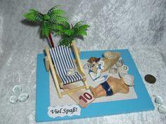 Weiteres - Geldgeschenk/Gutschein/Urlaub/Reise/Strand/Meer - ein Designerstück von Magic-4-You bei DaWanda