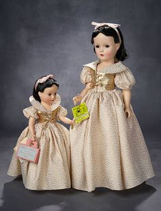 Lot: Petite Walt Disney's Snow White with Rare Tags, Original Box, 1952 Old Dolls, Antique Dolls, Vintage Dolls, Vintage Sewing, Snow White Doll, Vintage Madame Alexander Dolls, Creepy Dolls, Collector Dolls, Beautiful Dolls