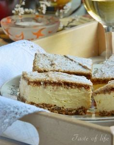 Torte Recepti, Kolaci I Torte, Pie Cake, No Bake Cake, Gibanica Recipe, Baking Recipes, Cake Recipes, Custard Cake, Croatian Recipes