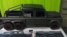 The latest Flying Huntsman model showcases meticulous #craftsmanship and precision detailing. If you want to see the real thing the 6x6 pickup is on display via our stand #6338 at the #Genevamotorshow  @flyinghuntsman @chelseatruckco #rcmodel #defender #landrover #landroverdefender #toy #hobby #hobbyist #rc #offroad #detail #bespoke #boystoys #kahn #kahndesign #top #chelsea #volcanic #rock #modelcar #gims #geneva #defender #class #hometime by akahndesign The latest Flying Huntsman model…