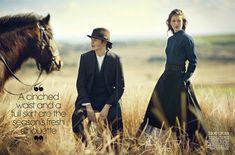Sofie Sjaastad By Havana Laffitte In 'Amazing Grace' For Teen Vogue November 2013