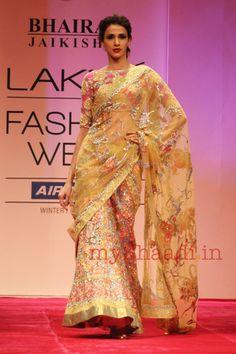 Indian Bridal Wear by Bhairavi Jaikishan