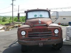 Galena, KS: The real Tow Mater. The truck that inspired the Disney movie.