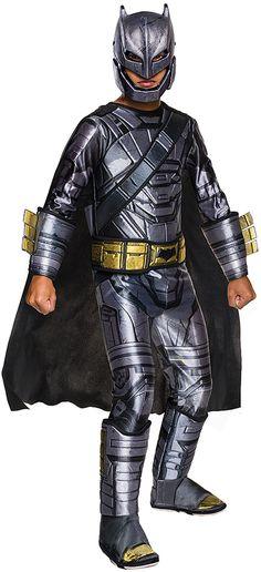I`m a Batman! Rarrrr!! Batman Deluxe Armored Dress-Up Set - Kids #kidsfashion #kids #halloweencostumes