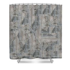 Concrete wall Shower Curtain by Sverre Andreas Fekjan. This shower curtain is made from polyester fabric and includes 12 holes at the top of the curtain for simple hanging. The total dimensions of the shower curtain are wide x tall. Curtains For Sale, Concrete Wall, Shower Curtains, Rugs, Simple, Fabric, Design, Home Decor, Tejido
