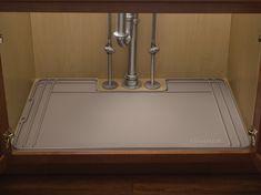 kitchen sink WeatherTech SinkMat - Under the Sink Cabinet Protection Mat Modern Kitchen Cabinets, Kitchen Furniture, Kitchen Decor, Kitchen Ideas, Diy Kitchen, Kitchen Gadgets, Kitchen Interior, Kitchen Updates, Boho Kitchen