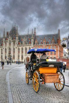 Markt - Brugge, Belgium..